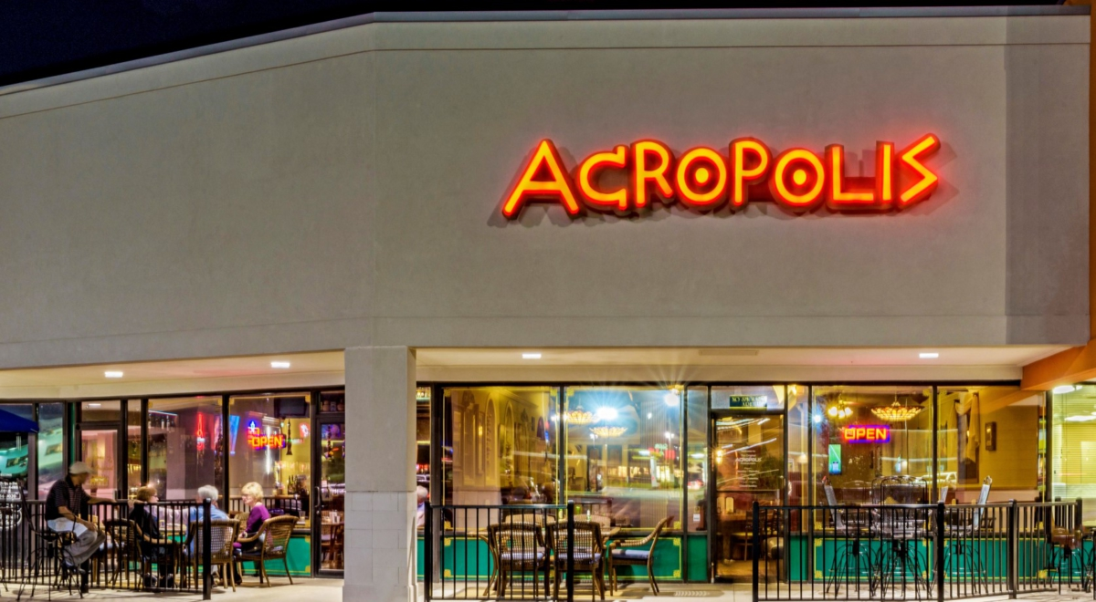 Welcome To Our Greek Restaurant Acropolis